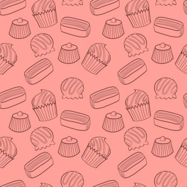 Bonbons pattern.