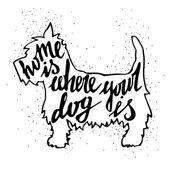 Doma, kde je váš pes