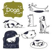 rajzfilm kézzel rajzolt kutyák