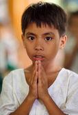 Neidentifikovaný barmské dívka