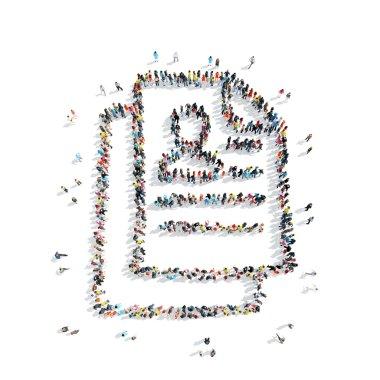 people  shape  certificate cartoon