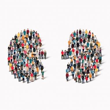 people kidney medicine crowd