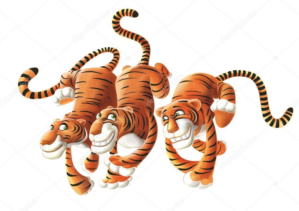 Imágenes: Tres Tigres Animados