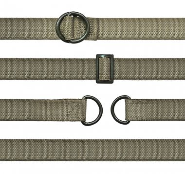 Seamless canvas straps