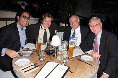 Robert Maltbie Jr. of Millennium Asset Management, Walter Johnsen of ACU, Sam Namiri, Dennis McCarthy