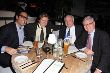 Robert Maltbie Jr. of Millennium Asset Management, Walter Johnsen of ACU, Sam Namiri, Dennis McCarthy