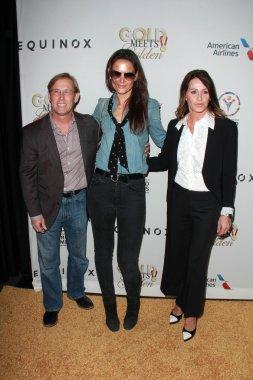 Bart Conner, Katie Holmes, Nadia Comaneci