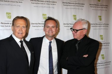 Lee Majors, Roy Price, Malcolm McDowell