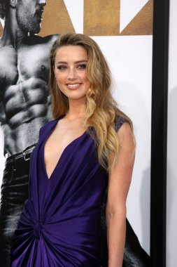 Amber Heard  at the Magic Mike XXL