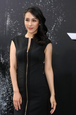 Jane Wu  at the Terminator Genisys