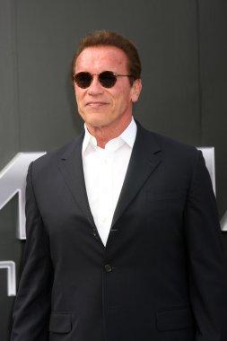 Arnold Schwarzenegger  at the Terminator Genisys
