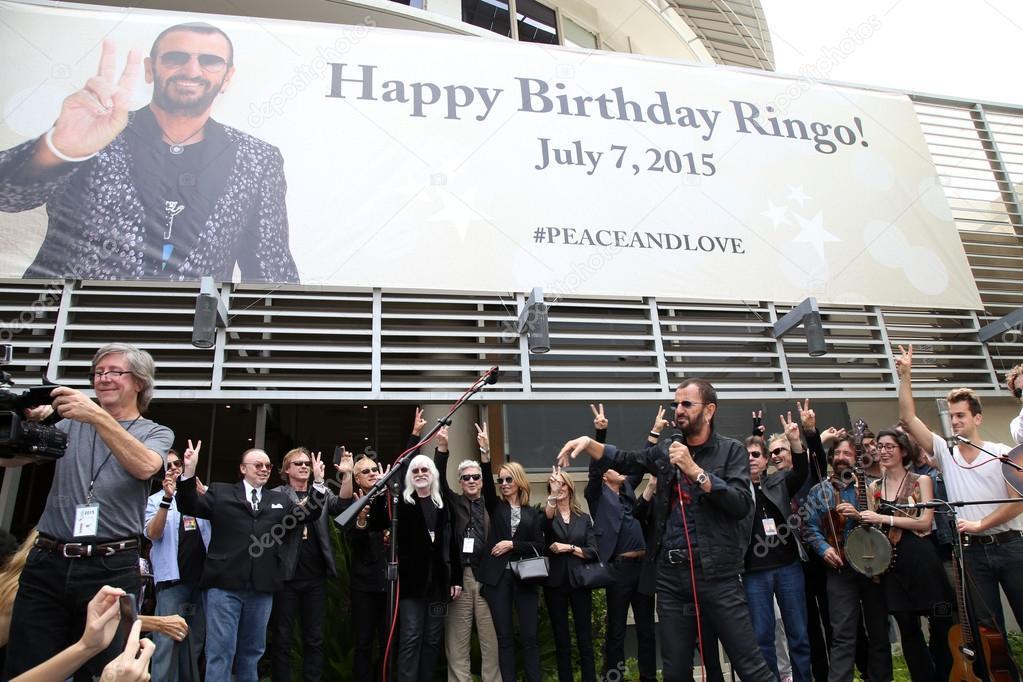 Ringo Starr   at Ringo Starr's Birthday