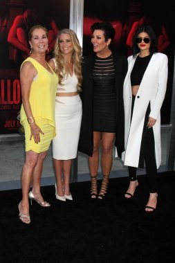 Kathie Lee Gifford, Cassidy Gifford, Kris Jenner, Kylie Jenner