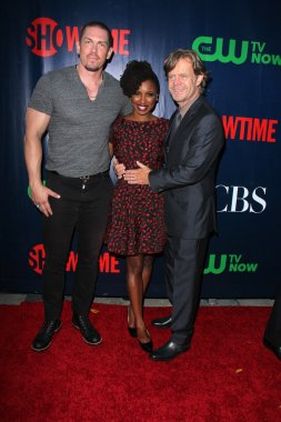 Steve Howey, Shanola Hampton, William H. Macy