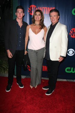 Alan Thicke and family