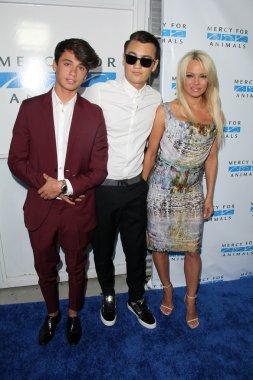 Pamela Anderson, Dylan Jagger Lee, Brandon Thomas Lee
