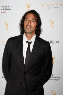 Adrien Brody at the 67th Emmy Awards