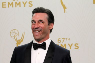 Jon Hamm - 67th Annual Primetime Emmy Awards - Press Room