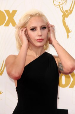 Lady Gaga at the 67th Annual Primetime Emmy Awards