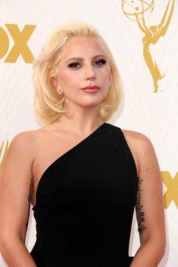 Lady Gaga at the 67th Annual Primetime Emmy Awards
