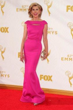 Christine Baranski at the 67th Annual Primetime Emmy Awards