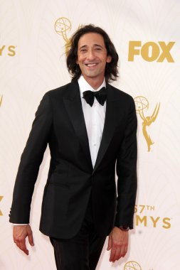 Adrien Brody at the 67th Annual Primetime Emmy Awards