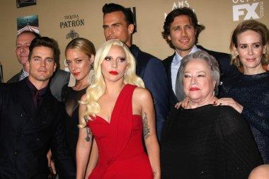Matt Bomer, Chloe Sevigny, Lady Gaga, Brad Falchuk, Kathy Bates, Sarah Paulson