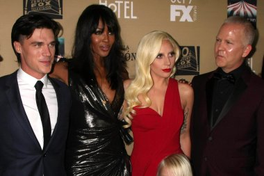 Naomi Campbell, Lady Gaga, Lennon Henry, Ryan Murphy