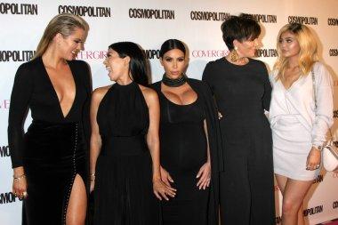Khloe Karsahian, Kourtney Kardashian, Kim Kardashian West, Kris Jenner, Kylie Jenner