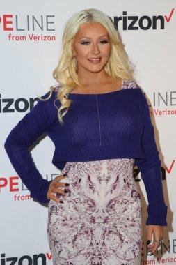 Christina Aguilera Joins HopeLine Program