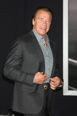 Arnold Schwarzenegger at the