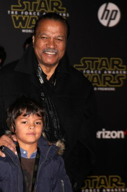 Billy Dee Williams at the