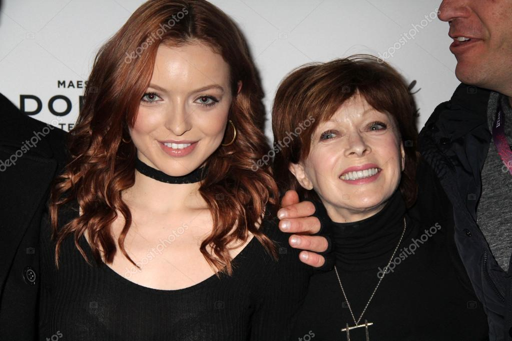 Francesca Eastwood, Frances Fisher – Stock Editorial Photo ...
