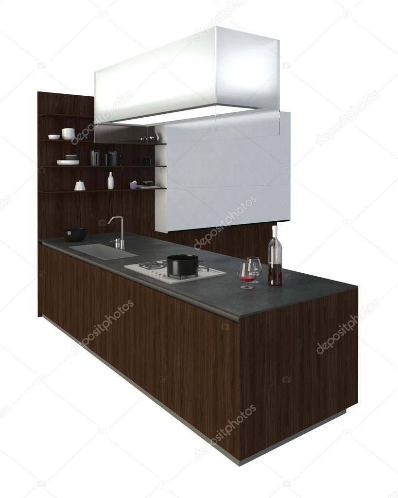 Mobili per cucina illustrazione 3D — Foto Stock © vik173 #116103080
