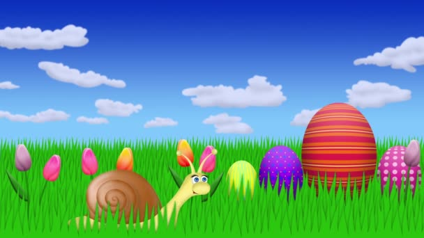 easter greetings animation