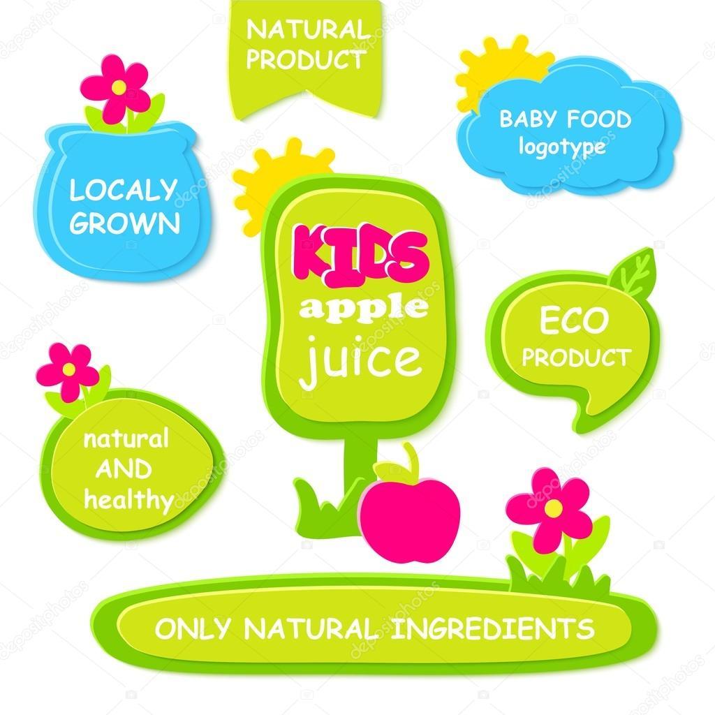 Conjunto de Marcos verdes, etiquetas para orgánico, natural, eco o ...