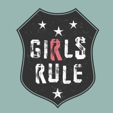 Girls rule design