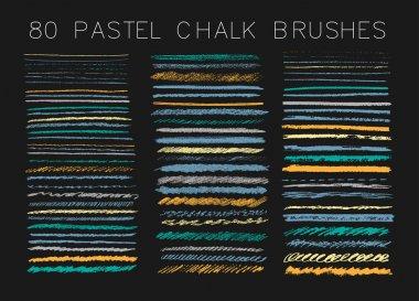 chalk design elements.