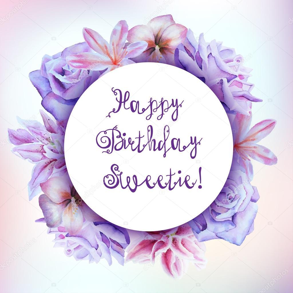 Herzlichen Gluckwunsch Zum Geburtstag Mein Schatz