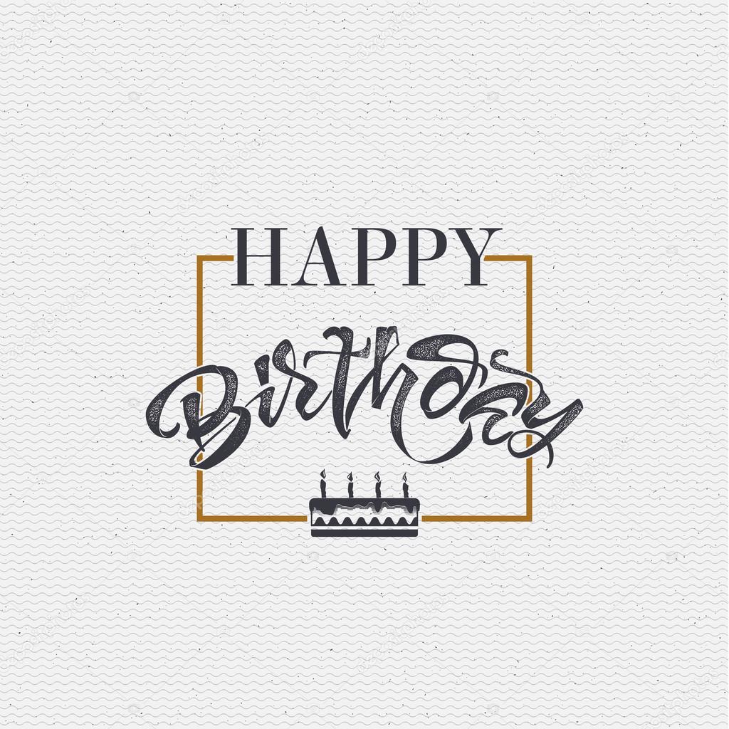 bd9b1c9d58e5ff Gelukkige verjaardag - kaart, sticker kan worden gebruikt voor het ontwerpen  van websites, kleding