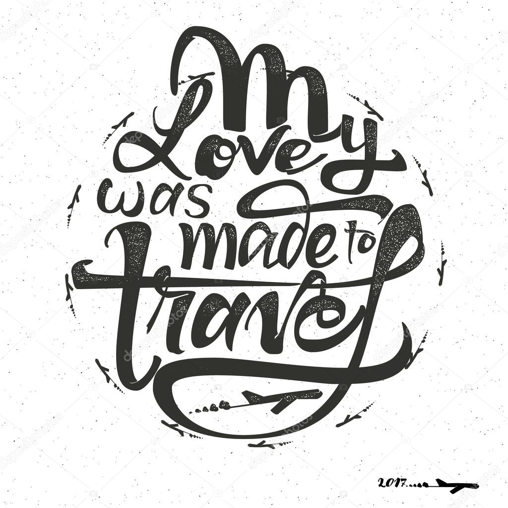 Travel inspiration quotes and airplane silhouette - My ...