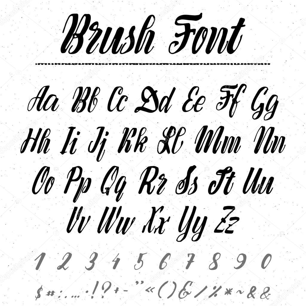 Sehr brosse de l'écriture manuscrite. Il peut être utilisé pour créer  BJ04