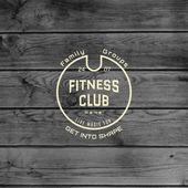 Fényképek Fitness club jelvények logók és feliratok