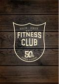 Fotografie Fitness-Club Abzeichen, Logos und labels