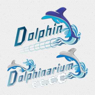 Dolphin badges logos and labels for any use