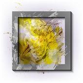 Vector-frame-Grunge-watercolor-background-Design-elements