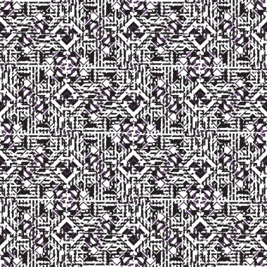 Seamless background with geometric patterns
