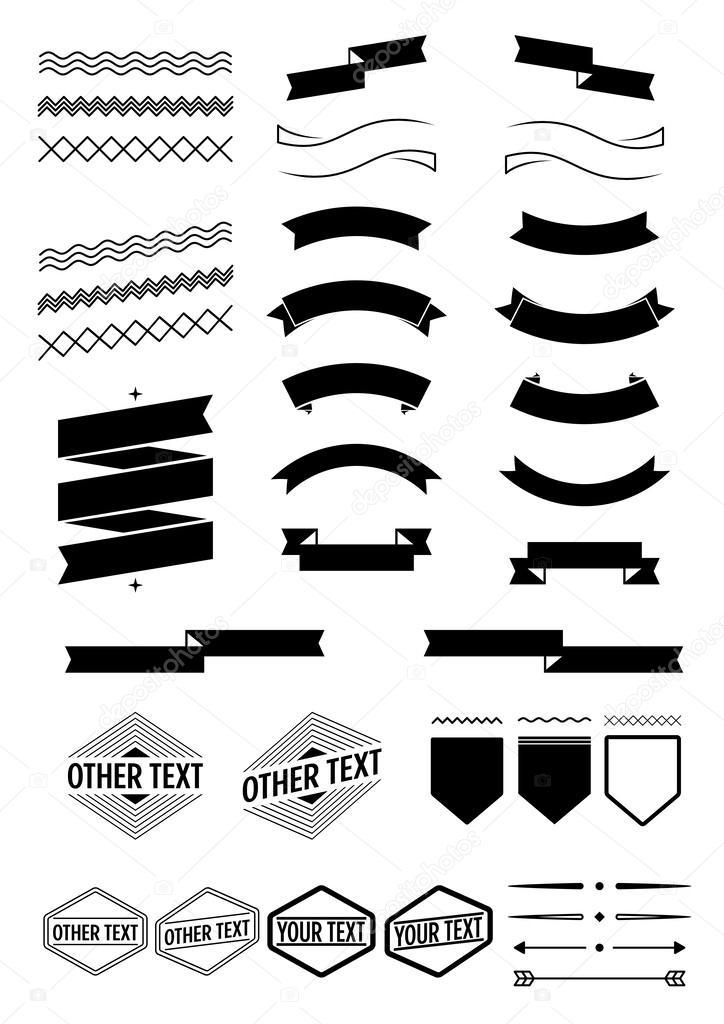labels decorative stock vector jizo 52893141