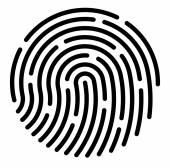 ujjlenyomat alkalmazás ikon