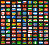 Photo Flags of world